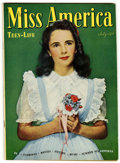 Golden Age (1938-1955):Romance, Miss America Magazine V4#3 (Timely, 1946) Condition: VF....