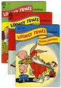Golden Age (1938-1955):Cartoon Character, Looney Tunes and Merrie Melodies Comics Group (Dell, 1948)Condition: Average FN.... (Total: 8 Comic Books)