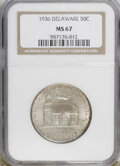 Commemorative Silver, 1936 50C Delaware MS67 NGC....