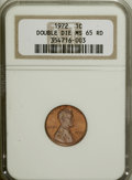 Lincoln Cents, 1972 1C Doubled Die Obverse MS65 Red NGC....