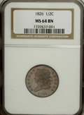 1826 1/2 C MS64 Brown NGC....(PCGS# 1144)