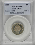 Proof Liberty Nickels, 1883 5C No Cents PR65 PCGS....