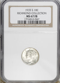 1935-S 10C MS67 Full Bands NGC....(PCGS# 4997)