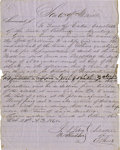 """Military & Patriotic:Civil War, MANUSCRIPT DOCUMENT """"LINCOLN'S ELECTION,"""" STATE OF MAINE, 1860...."""