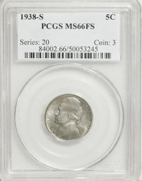 1938-S 5C MS66 Full Steps PCGS....(PCGS# 84002)