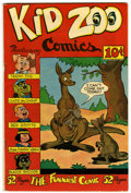 Golden Age (1938-1955):Funny Animal, Kid Zoo Comics #1 (Street & Smith, 1948) Condition: FN....