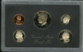Proof Roosevelt Dimes, 1983 No S Dime Proof Set PR68 Deep Cameo Uncertified.... (Total: 5 coins)