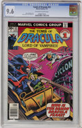 Bronze Age (1970-1979):Horror, Tomb of Dracula #52 (Marvel, 1977) CGC NM+ 9.6 Off-white to whitepages....