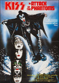 "Movie Posters:Rock and Roll, KISS Meets the Phantom of the Park (Avco Embassy, 1978). German A0(33"" X 46""). Rock and Roll.. ..."