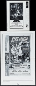 """Movie Posters:Science Fiction, Star Wars (20th Century Fox, 1976/1978). Pressbook (19 Pages, 8.5""""X 11"""") & Ad Slick (6 Pages, 13.25"""" X 20""""). Science Fictio...(Total: 2 Items)"""