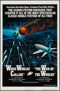 "Movie Posters:Science Fiction, When Worlds Collide/The War of the Worlds Combo (Paramount, R-1977). One Sheet (27"" X 41""). Science Fiction.. ..."