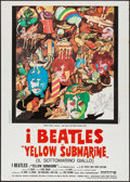 "Movie Posters:Animation, Yellow Submarine (United Artists, R-Late 1970s). Italian 2 - Fogli(39.25"" X 55""). Animation.. ..."