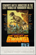 """Movie Posters:Science Fiction, The Valley of Gwangi (Warner Brothers, 1969). One Sheet (27"""" X 41""""). Science Fiction.. ..."""