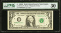 Fr. 1917-F $1 1988A Federal Reserve Web Note. PMG Very Fine 30