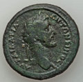 Ancients:Roman Provincial , Ancients: THRACE. Philippopolis. Antoninus Pius (AD 138-161). AEtetrassarion (32mm, 20.77 gm). About VF....