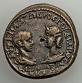 Ancients:Roman Provincial , Ancients: MOESIA INFERIOR. Tomis. Gordian III (AD 238-244), withTranquillina. AE28 (14.26 gm). XF....