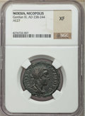 Ancients:Roman Provincial , Ancients: MOESIA INFERIOR. Nicopolis. Gordian III (AD 238-244). AEtetrassarion. NGC XF....
