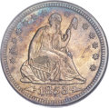Seated Quarters, 1853 25C Arrows and Rays MS64 PCGS....