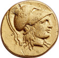 Ancients:Greek, Ancients: MACEDONIAN KINGDOM. Alexander III the Great (336-323 BC).AV stater (18 mm, 8.49 gm, 12h). Choice VF, peckmarks....