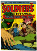 Golden Age (1938-1955):War, Soldiers of Fortune #10 (ACG, 1952) Condition: VF....