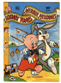 Golden Age (1938-1955):Cartoon Character, Looney Tunes and Merrie Melodies Comics #34 (Dell, 1944) Condition:FN+....