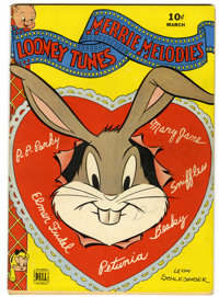 Looney Tunes and Merrie Melodies Comics #29 (Dell, 1944) Condition: FN+
