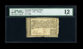 Colonial Notes:Georgia, Georgia 1776 3d PMG Fine 12....