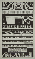 Books:Signed Editions, Harlan Ellison Signed: Jokes Without Punchlines...