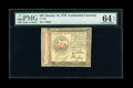 Colonial Notes:Continental Congress Issues, Continental Currency January 14, 1779 $35 PMG Choice Uncirculated64 EPQ....