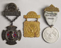 Military & Patriotic:Civil War, LOT OF (3) UCV (UNITED CONFEDERATE VETERANS) SUSPENSION BADGES.... (Total: 3 Items)