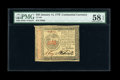 Colonial Notes:Continental Congress Issues, Continental Currency January 14, 1779 $35 PMG Choice About Unc 58EPQ....