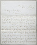 Military & Patriotic:Civil War, COLONEL HIRAM BERDAN CIVIL WAR LETTER SIGNED, BERDAN'S SHARPSHOOTERS....