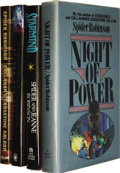 Books:Signed Editions, Spider Robinson: Four Signed First Editions.... (Total: 4 Items)