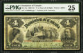 Canadian Currency, DC-17a $4 1902. ...