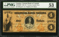 Canadian Currency: , Toronto, CW- Colonial Bank of Canada $4 Apr. 4, 1859 Ch. #130-10-02-08. ...