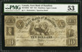 Canadian Currency: , Hamilton, UC- Gore Bank of Hamilton $10 Ch. # 325-10-02RRemainder.. ...