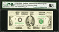 Error Notes:Inking Errors, Fr. 2173-I $100 1990 Federal Reserve Note. PMG Gem Uncirculated 65 EPQ.. ...