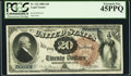 Large Size:Legal Tender Notes, Fr. 132 $20 1880 Legal Tender PCGS Extremely Fine 45PPQ.. ...