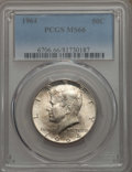Kennedy Half Dollars, 1964 50C MS66 PCGS. PCGS Population: (1526/71). NGC Census:(1248/51). Mintage 273,300,000. ...