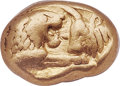 Ancients:Greek, Ancients: LYDIAN KINGDOM. Croesus (ca. 561-546 BC). AV sixth-stater or hecte (8mm, 1.77 gm). NGC Choice VF 5/5 - 5/5. ...