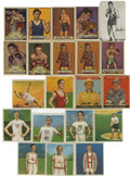 Miscellaneous Collectibles:General, Boxing & Miscellaneous Sports Group Lot of 21. Includes (9)1910 T218 Champions tobacco cards; 1933 Goudey Sport Kings #13, ...