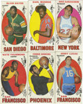 Basketball Cards:Lots, 1969-70 Topps Basketball Group Lot of 62. Nice collection from the1969-70 Topps basketball set, which marked Topps' return ...
