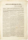 Books:Periodicals, [Periodical] El Cosmopolita. Num. 104. Tom. 1....