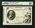 World Currency, Spain Banco de Espana 500 Pesetas 1.10.1886 Pick 37.. ...