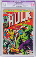 Bronze Age (1970-1979):Superhero, The Incredible Hulk #181 (Marvel, 1974) CGC Apparent VF- 7.5 Slight (C-1) Off-white to white pages....