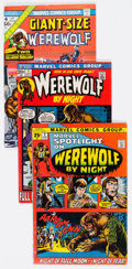 Bronze Age (1970-1979):Horror, Werewolf by Night-Related Group of 50 (Marvel, 1970s) Condition:Average FN-.... (Total: 50 Comic Books)