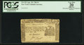 Colonial Notes:New York, New York April 18, 1786 5s PCGS Apparent Very Fine 20.. ...