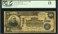 National Bank Notes:Tennessee, Centreville, TN - $10 1902 Date Back Fr. 616 The First NB Ch. # (S)3288. ...
