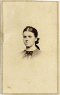 Military & Patriotic:Civil War, Civil War Period CDV of the Wife of a Vermont Officer....