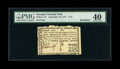 Colonial Notes:Georgia, Georgia September 10, 1777 $1/2 PMG Extremely Fine 40 Remainder....